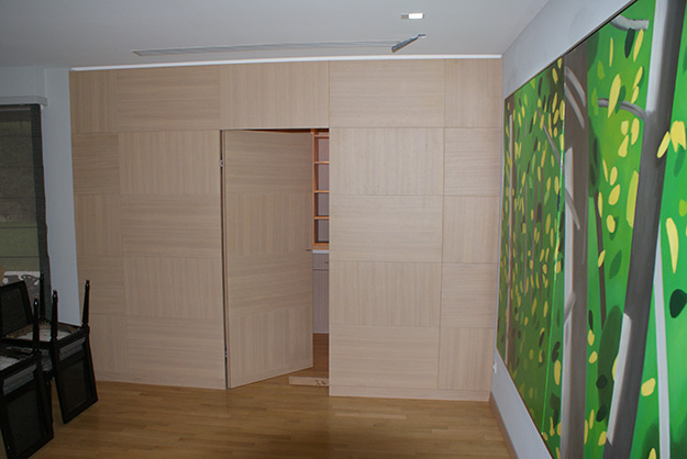 boiserie murale contemporaine images. Black Bedroom Furniture Sets. Home Design Ideas
